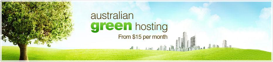 australian green hosting